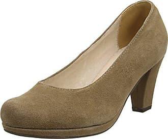 42 Conti0596497 Braun De Zapatos marron Talón Abierto Andrea Mujer 066 Hirschkogel taupe Marrón 4w7qax
