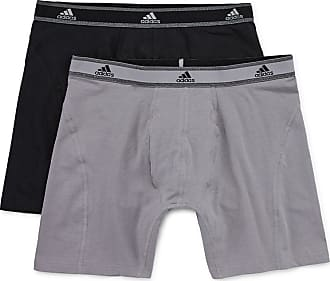 1f38039ad284 Onyx Adidas Medium Relaxed Performance Size Cotton Light Climalite Briefs  Boxer pk black 2 Stretch Mens