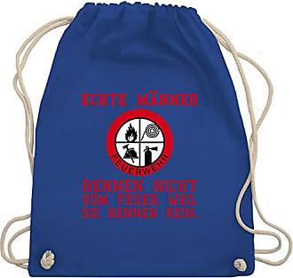 Männer Echte Turnbeutel Rennen Feuer Royalblau Feuerwehr Unisize Gym Shirtracer Bag Wm110 amp; Ins zq5Exw