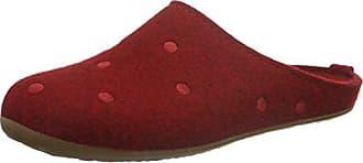 Pantoufles Rouge jusqu'à pour Femmes en 0RrqBwg0