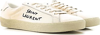 2017 36 38 41 5 Femme Crème Tissu Saint 40 37 38 39 Laurent Sneaker YqwCXC
