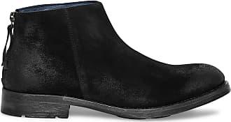 Noir De Croûte Boots Cuir Éram pUqIEwxUX