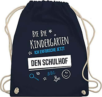 Gym Blau Schulhof Unisize Kindergarten Wm110 Navy Turnbeutelamp; Bag EinschulungBye Shirtracer Tl31JKcF