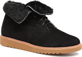 Boots Für Vintage Damen Ippon polar amp; Hyp Schwarz Stiefeletten q6XyqfwvB