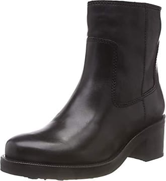 Eu Femme Bottes Biker Tommy Denim Jeans 990 Essential 39 Motardes black Boot Noir Leather Hilfiger q0z6wW01