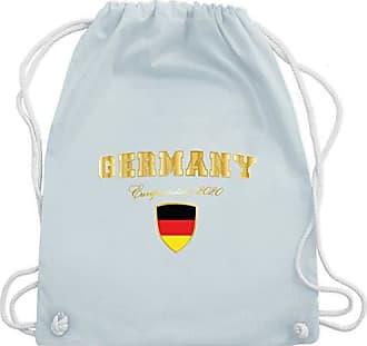 Pastell Fußball 2020 Unisize Shirtracer Turnbeutel Bag Gym Blau Europameister Germany europameisterschaft amp; Wm110 AxqBBwndY1