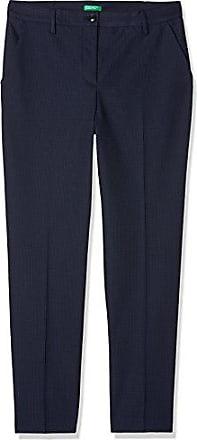 Femme Benetton 46 blue Fabricant Pantalon 901 taille Trousers Bleu qgUOC