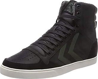 Schwarz black Slimmer Eu 39 erwachsene Stadil Sneaker Duo Hummel 2011 High Hohe Unisex Oiled rosin zvpw4