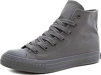 Unisex Low Turnschuhe High Marimo Schuhe Sneaker Klassische Top 36 Grau Herren Damen Xzxwwq5a