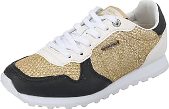Goldfarben kombi W Jeans Mesh Sneakers Gold Pepe Verona London Low BfqwRU