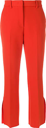 Trousers Msgm Slit Rouge Side Tailored qOfPw7t