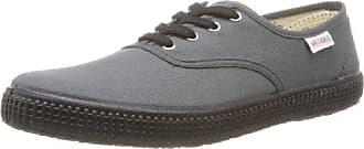 Eu 40 Sneakers Adulte 16 Piso Negro Basses Lona Mixte Victoria Antracita Inglesa Gris w7qUx6