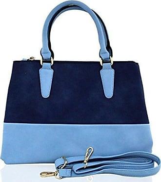 Tones Handtasche Oxford leder Kukubird Große Blue Plain designer Two FpBBH