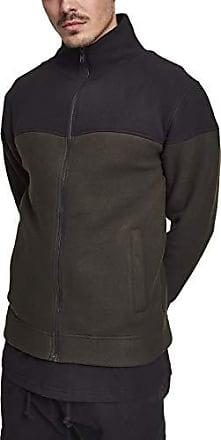 Classics Chaqueta Jacket Urban 2 Fleece Hombre Para Polar olive Oversize Tone AwBqd4w