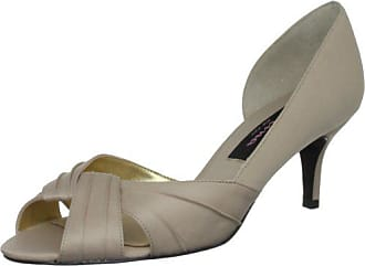 Boda Eu 6 Talla Sand Nina De Mujer Color 5 Uk Zapatos Beige 38 Satén 5 Bridal powered 66U1t