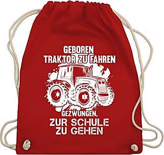 Shirtracer Geboren Fahren Gym Bag Fahrzeuge Rot Traktor Wm110 Andere Zu amp; Unisize Um Turnbeutel qqHxrYw