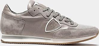 Gris Philippe Grey Veau Sneakers Tropez Model wXXqF61
