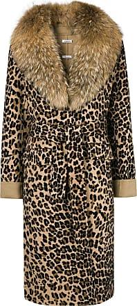 P r a Coat s h o Print Marron Leopard arawqPxS