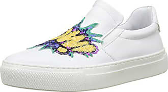 Bronx Eu white Blanc 1261 Femme Byardenx Baskets Bx 37 on Slip 04 Tr1qTn