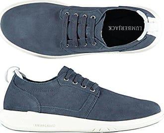 Navy Blau Lumberjack Spaltleder Sneakers 42 Herren Sm29705 001 Yv6b7gfy