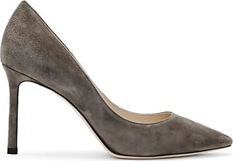 Gris Choo Suede 85 En Jimmy Romy Escarpins London qXdwZ6Za