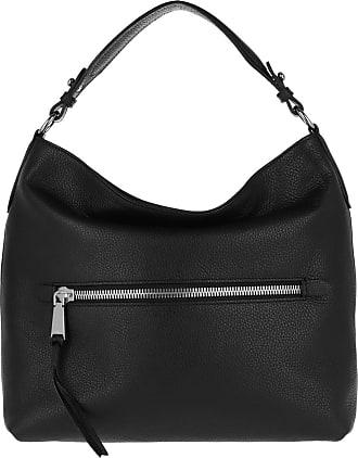 nickel Black Schwarz Adria Zip Hobo Bag Calf Abro UXqvYY