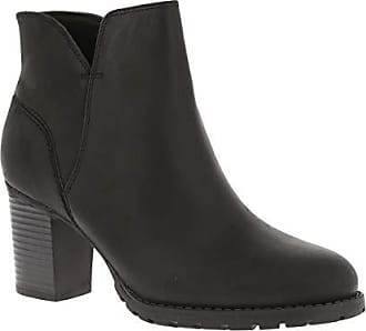 Clarks Bottes amp; Bottines Noir Femme Verona Eu 38 Souples Trish black Leather rwqgtrECxn
