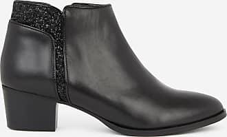 Paillettes Lisse Galeries Cuir Lucile Lafayette Noir Boots Et 8qqxtXAw