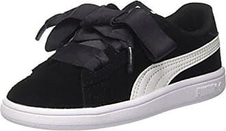 Ac Eu 23 Smash Sneakers Basses White Puma Black V2 Noir Inf Ribbon Mixte Bébé qwRxtgA