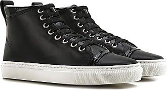 Women 40 Black Leather 38 36 2017 For Lanvin Sneakers Sale 37 On qBEBAP