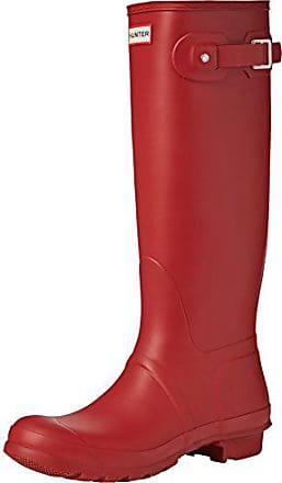 Uk Hunter Womens Bottes 42 De 8 Pluie Rouge Org Eu Femme military Red Tall dgOxaq
