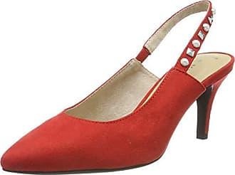 chili Talón Eu Abierto 29618 Tozzi De 2 533 2 Rojo Zapatos 32 Marco 38 Mujer Para U8q047Zwq
