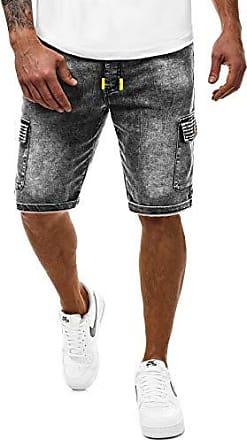 2xl Kurzhose Sportswear Freizeithose shorts Ozonee 836s Modern Slim Jeanshose Jeans Hose fit 1 Täglichen Straight Dunkelgrau Jeans Herren 777 Clubwear cut Kurze Bermuda Denim Ix7gwU7