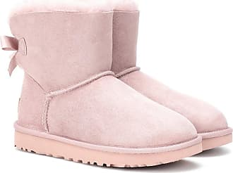Ii Fourrure Et Bottines Ugg Bailey Bow En Daim Mini TI8aqqwBxf