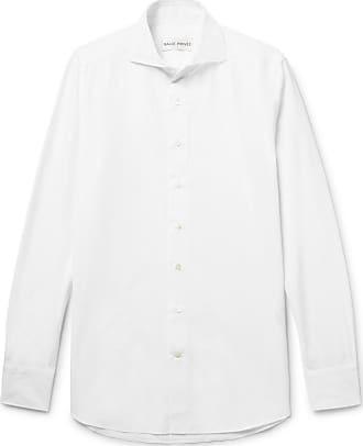 White Salle Evron Cotton fit Slim collar poplin Privée Shirt Cutaway qEwWH5nqr