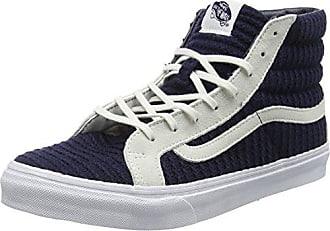 Eu true Blue White Vans 5 Adulto Slim Zapatillas Navy Unisex suede Altas hi 38 woven Sk8 Azul xwRqTa