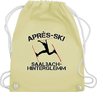 Unisize Wm110 Gelb Gym Shirtracer Hinterglemm Saalbach Pastell Turnbeutelamp; Bag SkiApres Après PXuTiOZwk