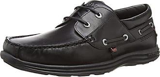 Noir 44 Homme Kickers Bateau Chaussures Eu Boat black Reasan 0001 WnAqAXR
