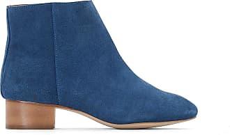 Moyen Talon Cuir Boots Collections Redoute La Bleu xw8XRqvg