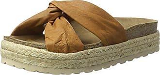 39 Slipper Eu Shoe Bio Biz Cognac Marron Femme leather on Chaussures Slip 6UfaZq