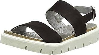 Shoot Sandale Leder 42 Chunky Sommer Noir Noir 164446dd Ouvert Shoes Femme Sandales Damen Sh Bout YwqrY4H