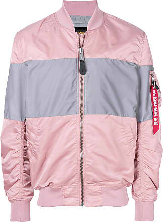 Industries Block Colour Bomber JacketRosa Alpha Yfbyvg76