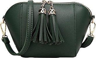 Kleine onesize Damen Schalen Weihnachtsgeschenk Messenger Bag Doppelte Gkkxue green Reißverschluss Schulter TJK1c5uF3l