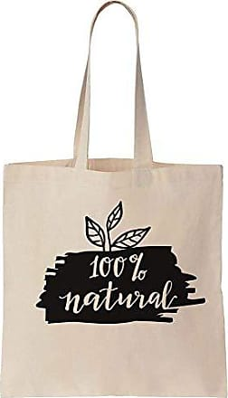 Tote Prints Finest Canvas Cotton Bag Minimal Natural 100 Design 0x6qwFd
