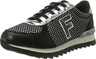 Mujer Fepk067 Para 40 Zapatillas Nero Negro Eu Fiorucci RfqTvwxtR