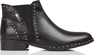 Les Cloutées Boots Cuir En Tropeziennes UUy8Sqc4A