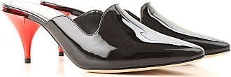 Sale Leather Outlet Patent Black 40 2017 In 38 Mcqueen 36 For Women 5 37 On 38 Sandals Alexander 39 X01zv8