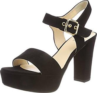 Noir 10 5 Högl Plateforme Femme Sandales 8812 schwarz Eu 40 qaUp4fq