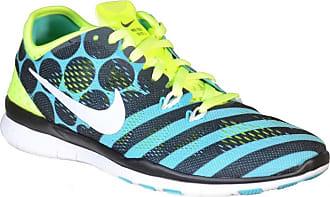 0 Free Sport Fit Nike Noir Tr Wmns 5 Prt Chaussures Vert Toile 5 De 4addxwS