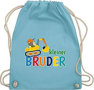 Wm110 Geschwisterliebe Unisize Turnbeutel Hellblau Bagger Bruder Kleiner Bag Gym Kind amp; Shirtracer 0RgBWpdW